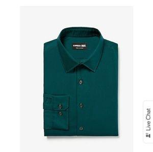 Extra Slim Solid Stretch 1MX Dress Shirt